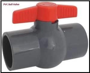 pvc ball valve india